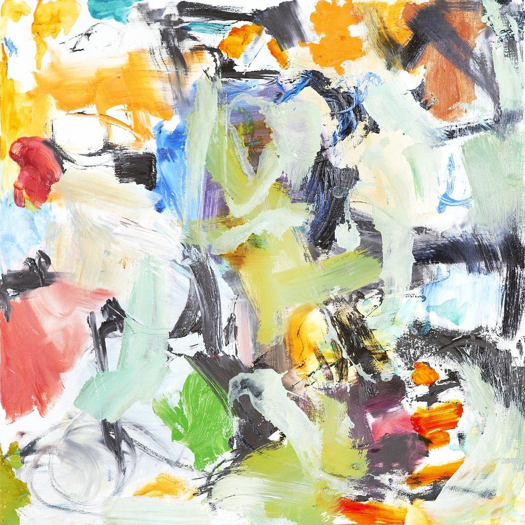 Denouement No38 Oil on Canvas 20x20 $2,000  2016